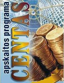 Buhalterinės apskaitos programa Centas, mažoms ir vidutinėms įmonėms.