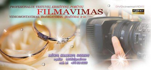 KLASIKINIS VESTUVIŲ FILMAVIMAS