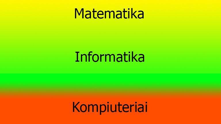 Matematikos ir informatikos korepetitorius