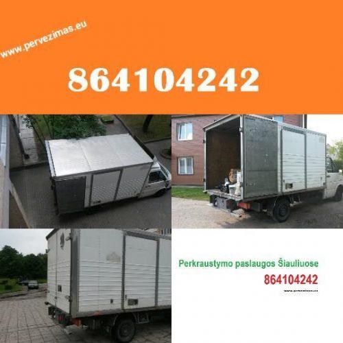 Krovinių pervežimas, perkraustymo paslaugos 864104242
