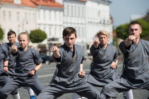 Šaolino UŠU (Kung Fu) užsiėmimai Vilniuje