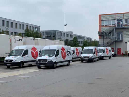 Darbas vairuotojams(B kategorija) kurjeriu tarnyboje Miunhen, Vokietija.