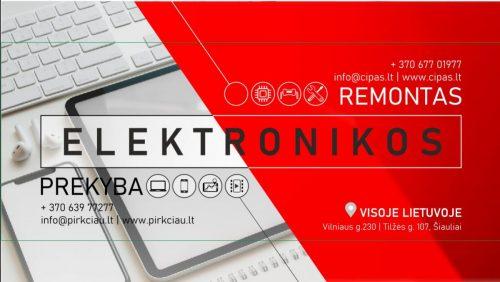 Profesionalus nešiojamų ir stacionarių kompiuterių, telefonų ir planšečių remontas visoje Lietuvoje